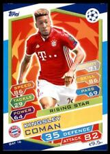 Match Attax Champions League 16/17 Kingsley Coman Bayern München No. BAY16