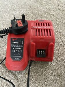 Milwaukee M12-18FC 18v Rapid Fast Battery Charger (121541)