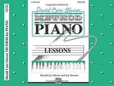 David Carr Glover Method for Piano Lessons: Piano Solo Sheet Music: Primer