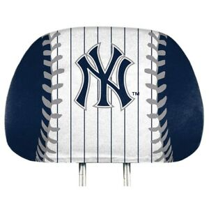 New York Yankees Printed Head Rest Covers