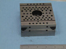 MACHINIST PRECISION THREADED PLATE 2 slide axis , 4x4x2 look at the pics