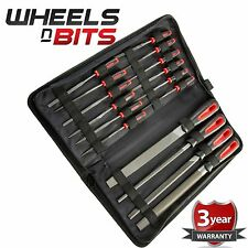 New 16pc File Set Flat Round Curved Garage Builders Assorted Engineer Metal