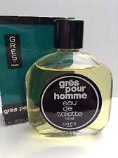 gres pour homme 115ml edt splash for men