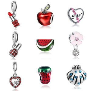 Charms Bracelet for Women Charm to choose bangle for ladies watermelon apple