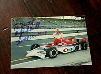 INDY 500 Trading Card AUTOGRAPHED Hand Signed INDY Great DR. JACK MILLER