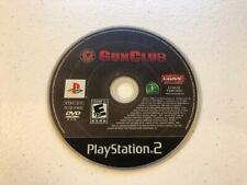 GUN CLUB (PlayStation 2 PS2) - DISC ONLY