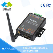 CE HF2211 Industrial Modbus Serial RS232/RS485/RS422 to WiFi Ethernet Converter