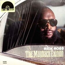 "Rick Ross MAYBACH EDITION Gatefold LIMITED RSD 2015 New Clear Vinyl 12"" EP"