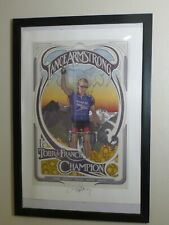 "Autographed ""Commemorative Limited Edition"" Lance Armstrong Lithograph w/ C of A"