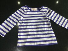Juicy Couture New & Gen. Baby Girls Striped Cotton T-shirt Age 6/12 MTHS & Logo