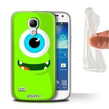 Étuis, housses et coques bleus Samsung Galaxy S4 Mini en silicone, caoutchouc, gel pour téléphone mobile et assistant personnel (PDA)