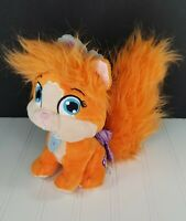 Disney Palace Pets Orange ARIEL'S CAT TREASURE  Plush Stuffed Animal Princess