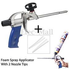 Professional Spray Foam Gun Expanding Polyurethane PU Insulating Applicator +Tip