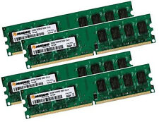 4x 2gb = 8gb ddr2 di RAM 533mhz pc2-4200 Apple PowerMac g5