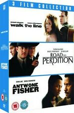 40 X Wholesale Lot DVDs Antowne Fisher Road To Perdition Walk the Line 3 Films