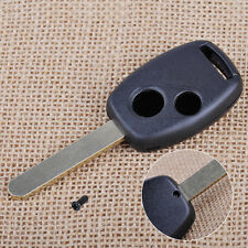 2 Button Remote Uncut Blade Key Shell Case Fit For Honda Accord Civic 2006-2012