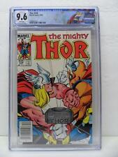 Thor 338 - 2nd Beta Ray Bill 1983 - NEWSSTAND - Custom Label - CGC Graded 9.6