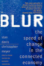 """VERY GOOD"" Blur: Speed of Change, Davis, Stanley, Book"