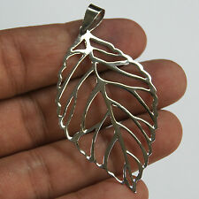 Leaf Pendant 925 Sterling Silver Thailand