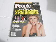 Mayo 7 1990 Personas Revista (No Label) sin Usar - Madonna - Marla Maples