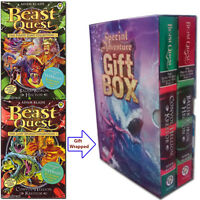 Beast Quest Special Collection 6 Titles in 2 Books Set Gift Wrapped Slipcase NEW