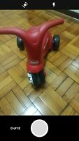Radio Flyer - Scoot 2 - Pedal push tricycle toddler learn bike balance