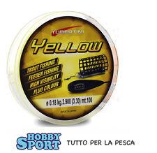 FILO TUBERTINI YELLOW 0,18 mm - 100 mt