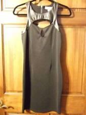 c84f642a704 NWT ~ NICKI MINAJ black sleeveless dress faux leather back cut-out ~ womens  S