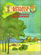 Advance Rumely Power Farming Machinery 1921 Catalog reprint includes Oil Pull tr