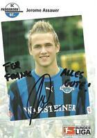 SC Paderborn - Jerome Assauer- Autogrammkarte
