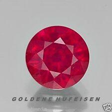 Natürliche Pink Rot Rubin 3mm Rund 3,0mm aus Birma Myanmar Minen / VS pr001