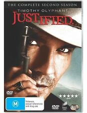 Justified: Season 2 NEW R4 DVD