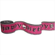 MONSTER HIGH CREPE PAPER STREAMER ~ Birthday Party Supplies Hanging Decoration