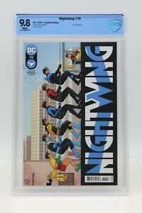 Nightwing (2016) #79 Redondo Second Printing CBCS 9.8 Blue Label White Pages