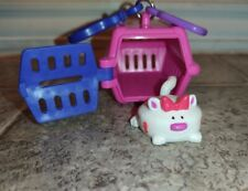 Sonic Wacky Pack Pet Keeper Pink Kennel With White Cat 2001