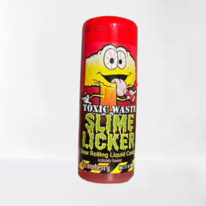 Toxic Waste Slime Licker Sour Rolling Liquid Candy (1) Strawberry Flavor TikTok