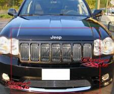 Fits 09-2010 Jeep Grand Cherokee SRT8 Billet Grille Grill Combo Insert