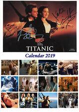 Titanic Autographed Calendar 2019 Portrait A4