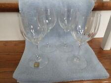 "Mikasa Tiffany # T7201..  7 1/4"" Wine Glasses Set Of 4"