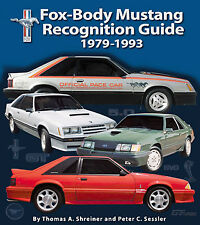 FOX BODY MUSTANG RECOGNITION GUIDE 1979-1993 BOOK FORD SVT GT 5.0 LX COBRA R SVO
