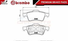 Brembo origine premium patins de frein pad set essieu arrière P59044