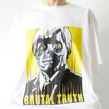 Brutal Truth Metal Rock grindcore T-Shirt Napalm Death Nasum Carcass S-3XL