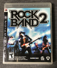 Rock Band 2 Sony PlayStation 3 2008 Box + Box Art Only (No Manuals Inserts Disc)