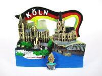 Köln Dom Cologne Rhein 3D Poly Fridge Magnet Herz Souvenir Germany Deutschland