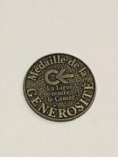 Médaille de la Générosité - Ligue contre le Cancer