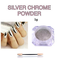 Chrome Powder Mirror Aurora Nail Art Glitter Pigment Rose Gold Pearl Silver Dust