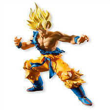 DRAGON BALL STYLING SUPER SAYAN SON GOK figura PVC 12cm de Bandai Shokugan