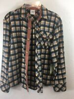 Fore!! Axel & Hudson Boys Size 10/12  Plaid long Sleeve Button Front  NEW w Tags