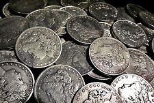 1878-1921 ~*AVG. CIRCULATED*~ Silver Morgan Dollar Rare US Old Antique Coin Lot!