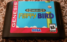 Mega Flappy homebrew game for Sega Genesis NTSC Excellent condition works great!